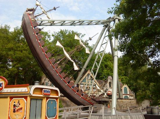 The Pirate Ship at Alton Towers